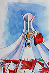 Pearl Roundabout in drawings