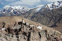 Buddhist Monastery in the Zanskar Range, Ladakh