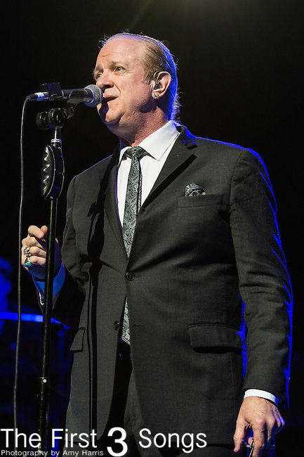 Lee Loughnane of Chicago performs at Riverbend Music Center in Cincinnati, Ohio.