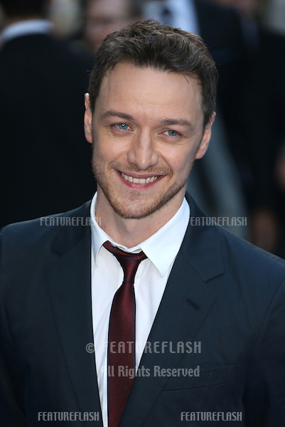 James McAvoy arriving for the UK premiere of Filth held at the Odeon - Arrivals<br /> London. 30/09/2013 Picture by: Henry Harris / Featureflash