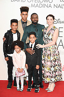 "David Oyelowo, wife Jessica and family<br /> at the London Film Festival 2016 premiere of ""Queen of Katwe"" at the Odeon Leicester Square, London.<br /> <br /> <br /> ©Ash Knotek  D3168  09/10/2016"