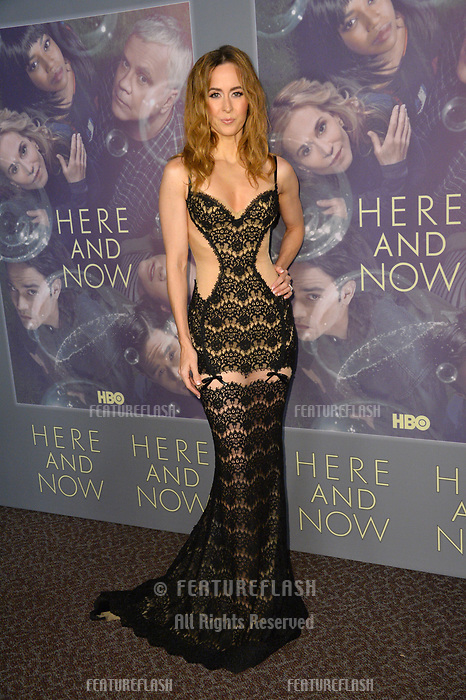 Erin Carufel at the premiere for HBO's &quot;Here and Now&quot; at The Directors Guild of America, Los Angeles, USA 05 Feb. 2018<br /> Picture: Paul Smith/Featureflash/SilverHub 0208 004 5359 sales@silverhubmedia.com