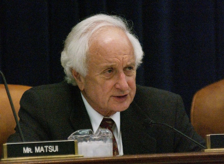 5/5/04.AFRICAN GROWTH AND OPPORTUNITY ACT--Sander M. Levin, D-Mich., during the House Ways and Means markup of HR4103, the AGOA Acceleration Act of 2004.CONGRESSIONAL QUARTERLY PHOTO BY SCOTT J. FERRELL