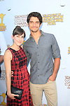 BURBANK - JUN 26: Seana Gorlick, Tyler Posey at the 39th Annual Saturn Awards held at Castaways on June 26, 2013 in Burbank, California