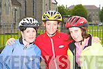 Rose Scully, Niamh Coleman and Catriona Nic Caba Killarney having fun at the Ring of Kerry cycle in Killarney Saturday morning