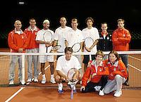 17-9-07, Rotterdam, Daviscup NL-Portugal, training