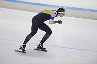 SCHAATSEN: HEERENVEEN: 04-11-2017, IJsstadion Thialf, KNSB trainingswedstrijden, ©foto Martin de Jong