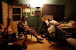 .Fort Thompson, SD, USA. July 2009.Glem Pomani at home with his sick mother. Crow Creek is need of about 450 houses, if each family shold have their own home. In many houses two to three families have to share to same roof.