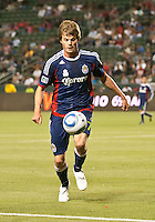 CARSON, CA – APRIL 30, 2011: Chivas USA forward Justin Braun (17) during the match between Chivas USA and New England Revolution at the Home Depot Center, April 30, 2011 in Carson, California. Final score Chivas USA 3, New England Revolution 0.