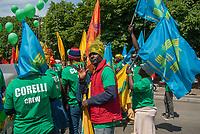 Milano, 20 maggio 2017, Marcia per l&rsquo;accoglienza, l&rsquo;integrazione dei migranti e una societ&agrave; multietnica. <br /> Milan, 20 May 2017, March for the welcome, integration of migrants and a multiethnic society.