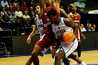 GRONINGEN - Basketbal, Donar - Benfica, voorronde Chamions League, seizoen 2019-2020, 20-09-2019, Donar speler Donte Thomas