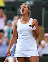 The Championships Wimbledon 2014 - The All England Lawn Tennis Club -  London - UK -  ATP - ITF - WTA-2014  - Grand Slam - Great Britain -  27th.June 2014. <br /> BARBORA ZAHLAVOVA-STRYCOVA (CZE)<br /> <br /> © J.Hasenkopf / Tennis Photo Network