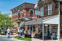 Quaint historic town of Lewes, Delaware, USA
