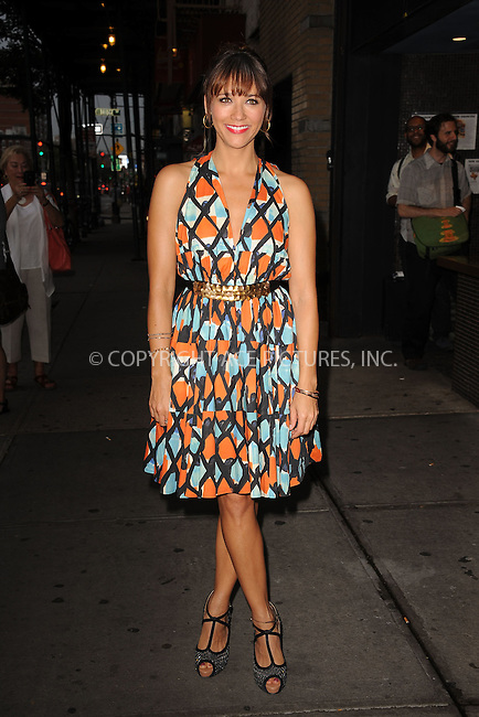 WWW.ACEPIXS.COM . . . . . .August 1, 2012...New York City....Actress Rashida Jones attends the 'Celeste And Jessie' New York Premiere at Sunshine Landmark on August 1, 2012 in New York City. ....Please byline: KRISTIN CALLAHAN - WWW.ACEPIXS.COM.. . . . . . ..Ace Pictures, Inc: ..tel: (212) 243 8787 or (646) 769 0430..e-mail: info@acepixs.com..web: http://www.acepixs.com .