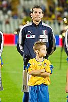 PESCARA (PE) 12/10/2012: QUALIFICAZIONE EUROPEI UNDER 21 ITALIA - SVEZIA. PARTITA VINTA DALL'ITALIA CON UN GOAL DI IMMOBILE. NELLA FOTO SAPONARA ITALIA  FOTO ADAMO DI LORETO