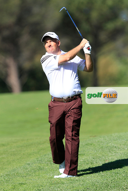 Damien McGrane (IRL) on the 14th during Thursday's Round 1 of The Open De Espana at The PGA Catalunya Resort. 15th May 2014.<br /> Picture:  Thos Caffrey / www.golffile.ie