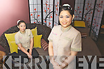 Moolan Thongpha Proprieter of Orchid Day Spa (right) and Katie Suebjuy in the relaxation room at Orchid Day Spa in Old Market Lane Killarney..