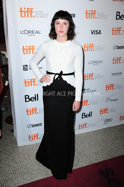WWW.ACEPIXS.COM<br /> <br /> September 9 2013, Toronto<br /> <br /> Alexandra Roach arriving at the 'One Chance' Premiere during the 2013 Toronto International Film Festival at Winter Garden Theatre on September 9, 2013 in Toronto, Canada<br /> <br /> <br /> By Line: William Bernard/ACE Pictures<br /> <br /> <br /> ACE Pictures, Inc.<br /> tel: 646 769 0430<br /> Email: info@acepixs.com<br /> www.acepixs.com