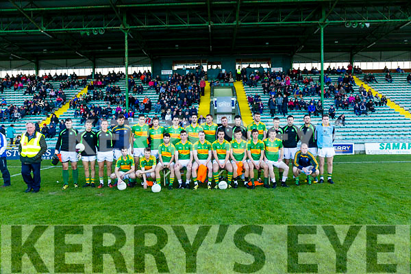 South Kerry team who played Dingle in the Quarter Finals of the Kerry County Football Championship at Austin Stack Park on Saturday.