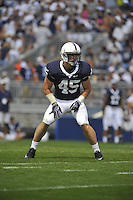 05 September 2009:    Penn State LB Sean Lee (45)..The Penn State Nittany Lions defeated the Akron Zips 31-7 at Beaver Stadium in State College, PA..