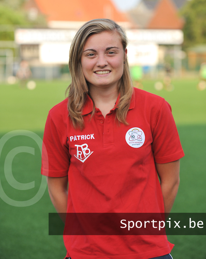 SV Dames Zulte Waregem : Annelies Van Elslander.foto DAVID CATRY / Vrouwenteam.be