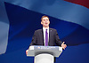 Conservative Party Conference <br /> Manchester, Great Britain <br /> Day 3<br /> 6th October 2015 <br /> <br /> <br /> <br /> Jeremy Hunt MP <br /> Health Minister <br /> <br /> Photograph by Elliott Franks <br /> Image licensed to Elliott Franks Photography Services