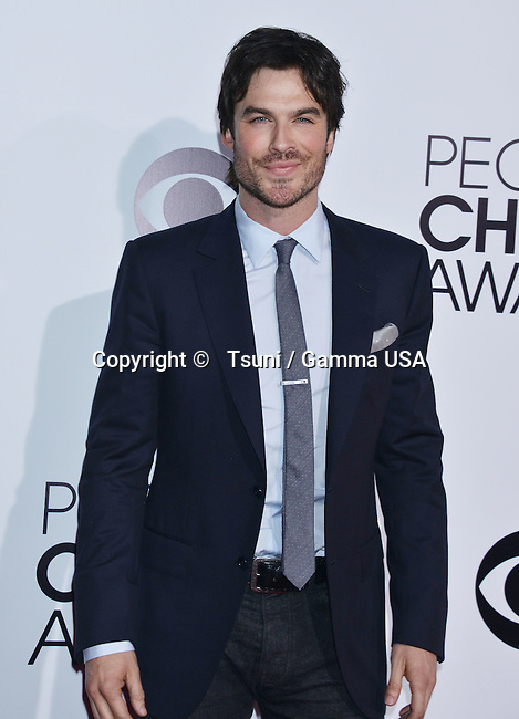 Ian Somerhalder 243 People Choice Awards 2014 at the Nokia Theatre in Los Angeles.