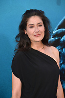"LOS ANGELES, CA - August 06, 2018: Alicia Coppola at the US premiere of ""The Meg"" at the TCL Chinese Theatre"