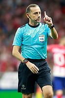Referee Cuneyt Cakir during Champions League 2017/2018, Group C, match 2. September 27,2017. (ALTERPHOTOS/Acero)<br /> Champions League 2017/2018 <br /> Atletico Madrid - Chelsea <br /> Foto Alterphotos / Insidefoto