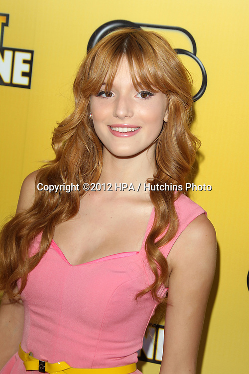 """LOS ANGELES - JUN 5:  Bella Thorne arriving at the Premiere Of Disney Channel's .""""Let It Shine"""" at DGA Theater on June 5, 2012 in Los Angeles, CA"""