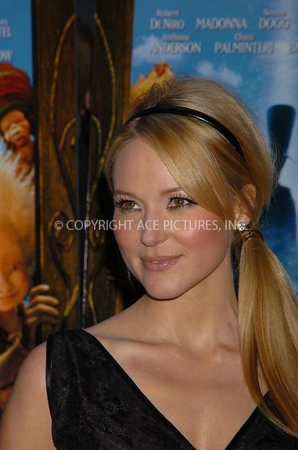 WWW.ACEPIXS.COM . . . . .  ....December 7, 2007, New York City....Jewel attends the 'Arthur and the Invisibles' Premiere.....Please byline: AJ Sokalner - ACEPIXS.COM.... *** ***..Ace Pictures, Inc:  ..(212) 243-8787 or (646) 769 0430..e-mail: picturedesk@acepixs.com..web: http://www.acepixs.com