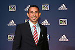 16 January 2014: Colorado Rapids technical director Pablo Mastroeni. The 2014 Major League Soccer SuperDraft was held at the NSCAA Annual Convention in the Pennsylvania Convention Center in Philadelphia, Pennsylvania.