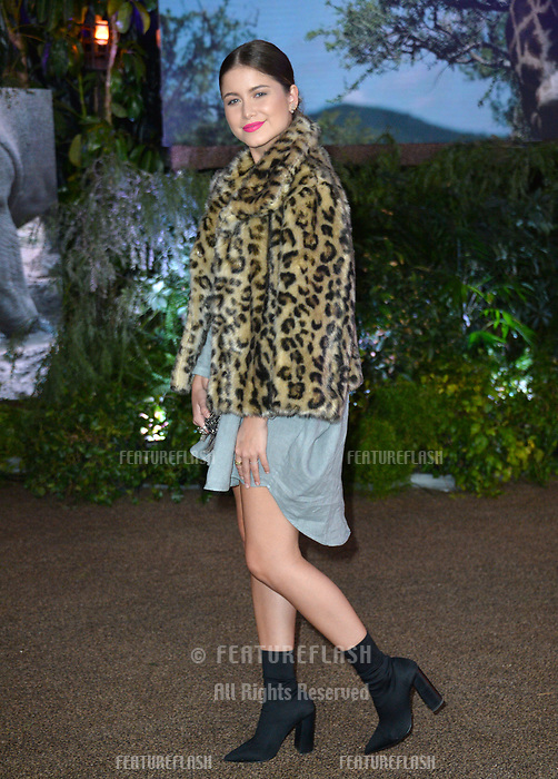 Sofia Reyes  at the Los Angeles premiere of &quot;Jumanji: Welcome To the Jungle&quot; at the TCL Chinese Theatre, Hollywood, USA 11 Dec. 2017<br /> Picture: Paul Smith/Featureflash/SilverHub 0208 004 5359 sales@silverhubmedia.com