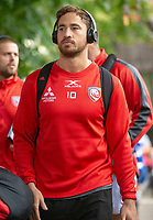Gloucester Rugby's Danny Cipriani arrives at the ground<br /> <br /> Photographer Bob Bradford/CameraSport<br /> <br /> Gallagher Premiership - Bath Rugby v Gloucester Rugby - Saturday September 8th 2018 - The Recreation Ground - Bath<br /> <br /> World Copyright © 2018 CameraSport. All rights reserved. 43 Linden Ave. Countesthorpe. Leicester. England. LE8 5PG - Tel: +44 (0) 116 277 4147 - admin@camerasport.com - www.camerasport.com