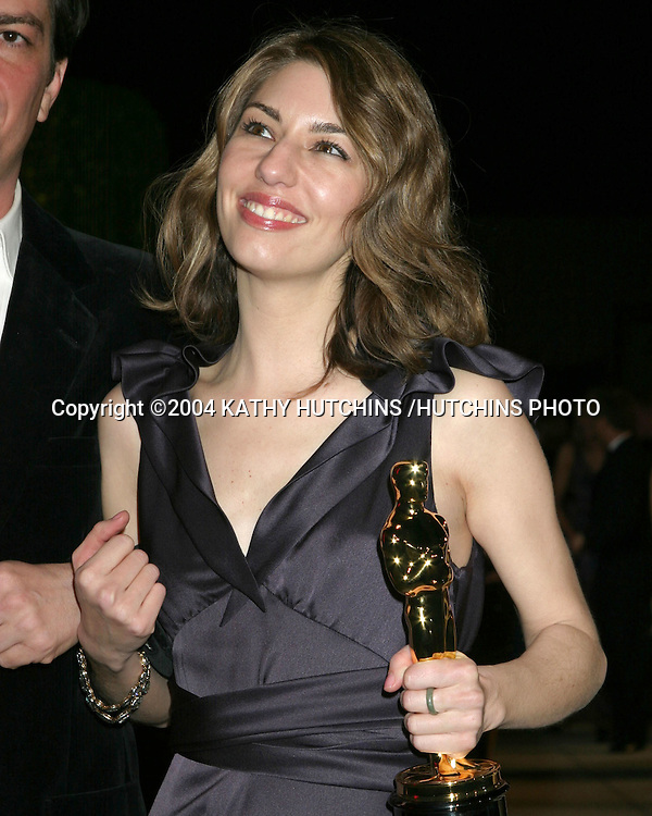 ©2004 KATHY HUTCHINS /HUTCHINS PHOTO.VANITY FAIR OSCAR PARTY.MORTONS RESTAURANT.WEST HOLLYWOOD, CA .FEBRUARY 29, 2004 ..SOFIA COPPOLA.