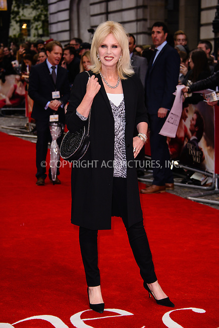 WWW.ACEPIXS.COM<br /> <br /> May 25 2016, New York City<br /> <br /> Joanna Lumley attending the UK premiere of 'Me Before You' at The Curzon Mayfair on May 25, 2016 in London, England. <br /> <br /> By Line: Famous/ACE Pictures<br /> <br /> <br /> ACE Pictures, Inc.<br /> tel: 646 769 0430<br /> Email: info@acepixs.com<br /> www.acepixs.com