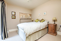 BNPS.co.uk (01202 558833)<br /> Pic: Symonds&Sampson/BNPS<br /> <br /> Bedroom. <br /> <br /> A charming home which features in a Thomas Hardy novel has emerged on the market for £500,000.<br /> <br /> Grade II listed Stinsford House, in the idyllic village of Stinsford, Dorset, is referenced in the writer's 1872 novel 'Under The Greenwood Tree'.<br /> <br /> It is believed that the tree in the courtyard is the one Hardy wrote about in the romantic tale.<br /> <br /> Hardy was very attached to the village which is on the outskirts of the market town of Dorchester. He was baptised at St Michael's Church in the village and his church group is thought to have performed at the 17th century property every Christmas Eve. Following his death in 1928, his second wife fulfilled Hardy's request for his heart to be buried at St Michael's Church, while his ashes were interred at 'Poets Corner' in Westminster Abbey.<br /> <br /> The property is being sold with estate agent Symonds & Sampson.