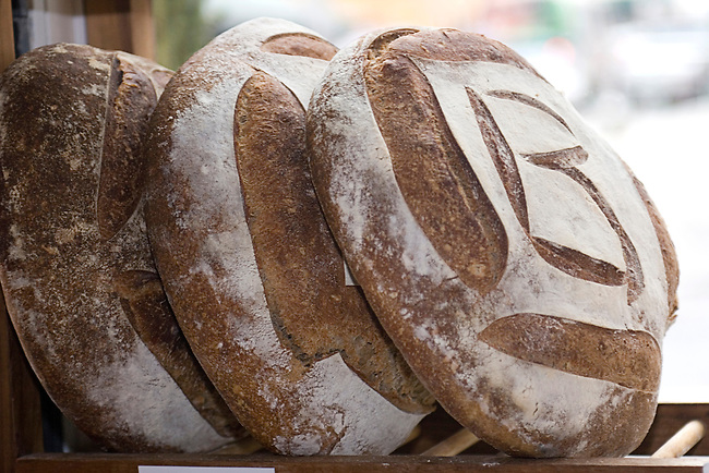 Loaves of Bread, Bouley, Tribeca, New York, New York