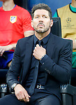 Atletico de Madrid's coach Diego Pablo Cholo Simeone during UEFA Champions League 2015/2016 Final match.May 28,2016. (ALTERPHOTOS/Acero)