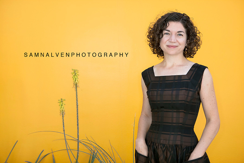 Lesley Oliver, Curator of the Scottsdale Museum of Contemporary Art. <br /> <br /> Shot for 944 Magazine