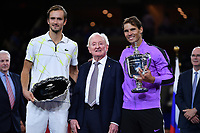 Rafael Nadal  vs Daniil Medvedev with Rod Laver<br /> Flushing Meadows 09/09/2019 US Open<br /> Tennis Grande Slam 2018 <br /> Photo Antoine Couvercelle /Panoramic / Insidefoto <br /> ITALY ONLY