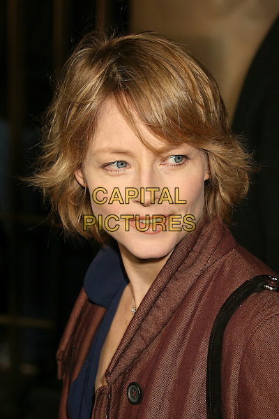 "JODIE FOSTER.""The Lookout"" Los Angeles Premiere at Grauman's Egyptian Theatre, Hollywood, California , USA..March 20th, 2007.headshot portrait .CAP/ADM/BP.©Byron Purvis/AdMedia/Capital Pictures"