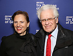 Jill Rose and Jerry Zaks attend the Opening Night Performance of 'Six Degrees Of Separation' at the Barrymore Theatre on April 25, 2017 in New York City.