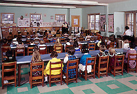 Children in kindergarten classroom
