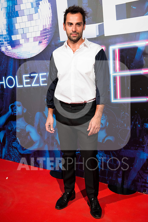 Carlo D'Ursi attends to the premiere of the The Hole Zero Show at Teatro Calderon in Madrid. October 04, 2016. (ALTERPHOTOS/Borja B.Hojas)
