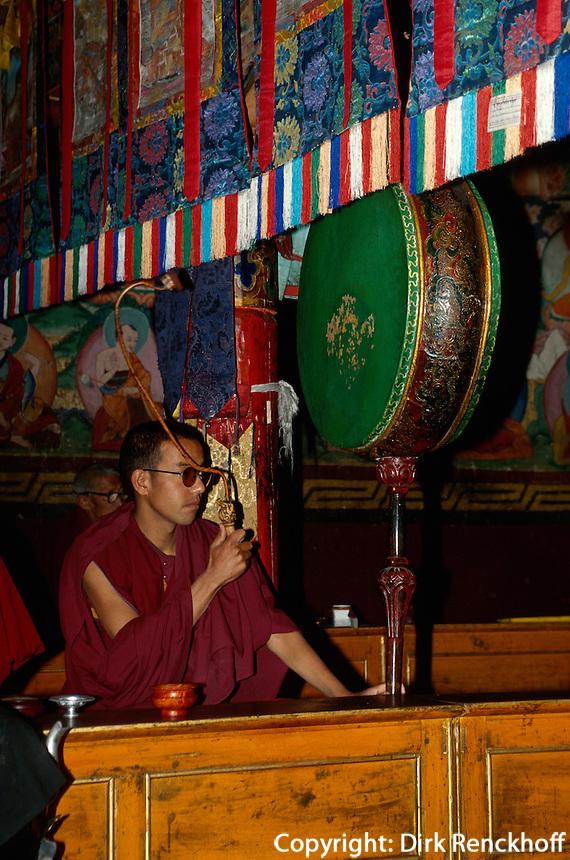 im Kloster Sankar, Ladakh (Jammu+Kashmir), Indien