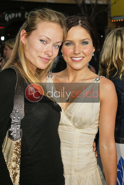 """Olivia Wilde and Sophia Bush<br /> at the premiere of Warner Bros. """"House of Wax"""" at Mann Village Theater, Westwood, CA 04-26-05<br /> <br /> David Edwards/DailyCeleb.com 818-249-4998"""
