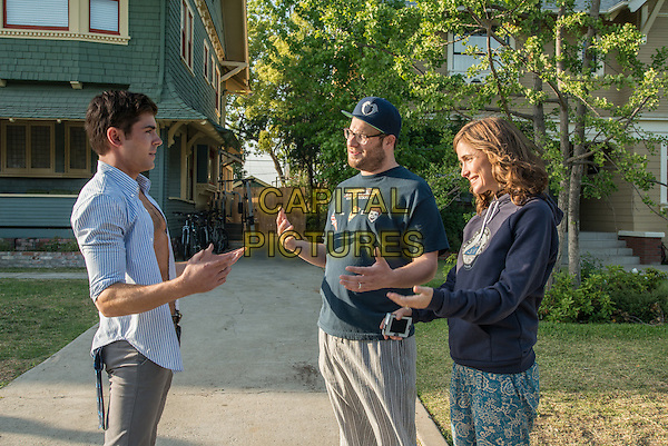 Zac Efron, Seth Rogen, Rose Byrne<br /> in Neighbors (2014) <br /> *Filmstill - Editorial Use Only*<br /> CAP/FB<br /> Image supplied by Capital Pictures