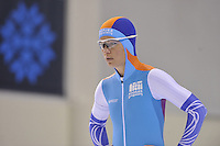 SPEED SKATING: SALT LAKE CITY: 18-11-2015, Utah Olympic Oval, ISU World Cup, training, Diane Valkenburg (NED), ©foto Martin de Jong