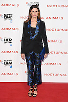LONDON, UK. October 14, 2016: Livia Firth at the London Film Festival 2016 premiere of &quot;Nocturnal Animals&quot; at the Odeon Leicester Square, London.<br /> Picture: Steve Vas/Featureflash/SilverHub 0208 004 5359/ 07711 972644 Editors@silverhubmedia.com